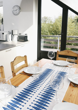 Küche und Essbereich Schwalbennest