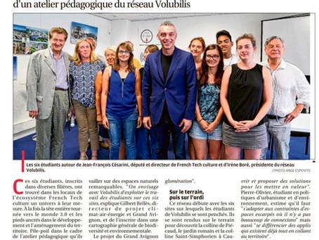La Provence 02/09/2017 - Six étudiants veulent valoriser six sites naturels