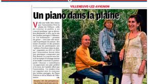 La Provence 21/05/2016 - Un piano dans la plaine