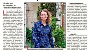 La Provence 05/03/2017 - Plaine de l'Abbaye : Valérie Guillemot reprend le flambeau
