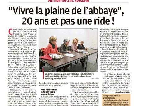 La Provence - Assemblée générale de l'association 15/01/20