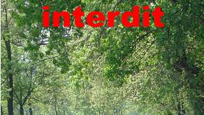 Les berges du Rhône et du contre canal sont interdites à toutes circulations