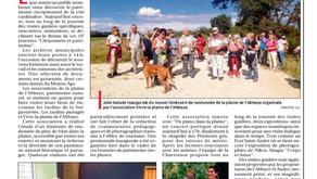 La Provence 18/09/2016 - Visites guidées, expos et concert poétique au programme