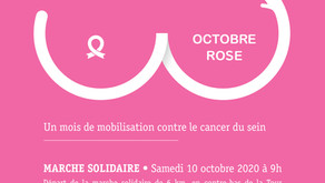 Vivre la Plaine de l'Abbaye partenaire d'Octobre rose de la Ligue contre le cancer