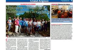 La Provence 22/09/2016 - La plaine de l'Abbaye, le poumon vert de l'aire urbaine