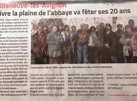 Article Midi Libre Cueillette