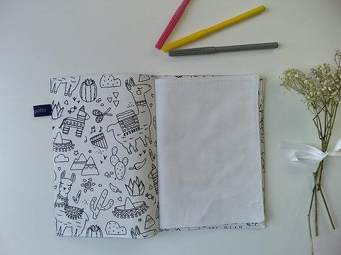 Cahier de dessin/coloriage lavable #1