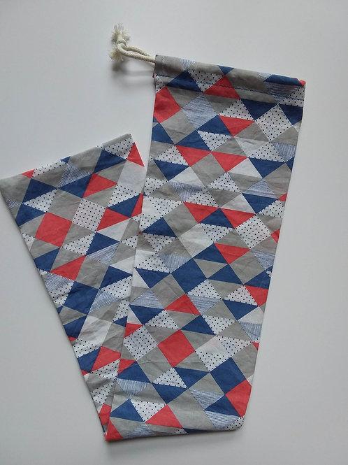 Sac à baguette Triangles1