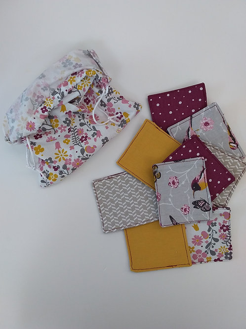 Mémory Textile Prune