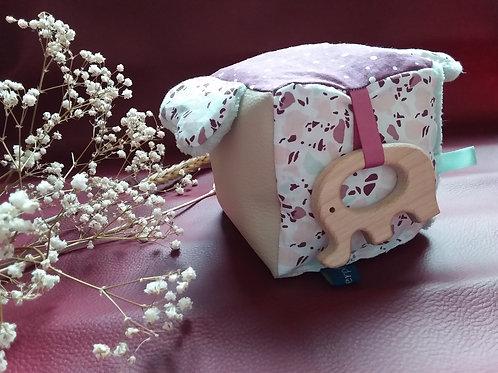 Cube d'éveil Eléphant