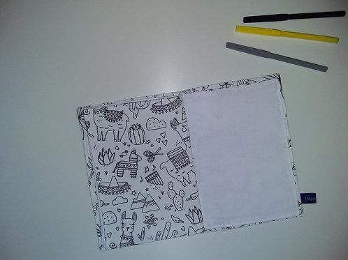 Cahier de dessin/coloriage lavable #2