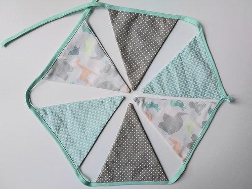 Guirlande de fanions Origami
