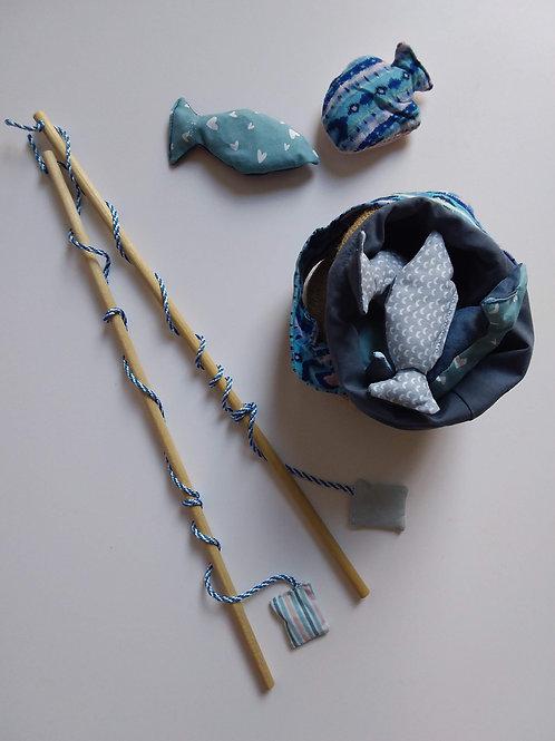 Jeu de pêche Bleu/Rose