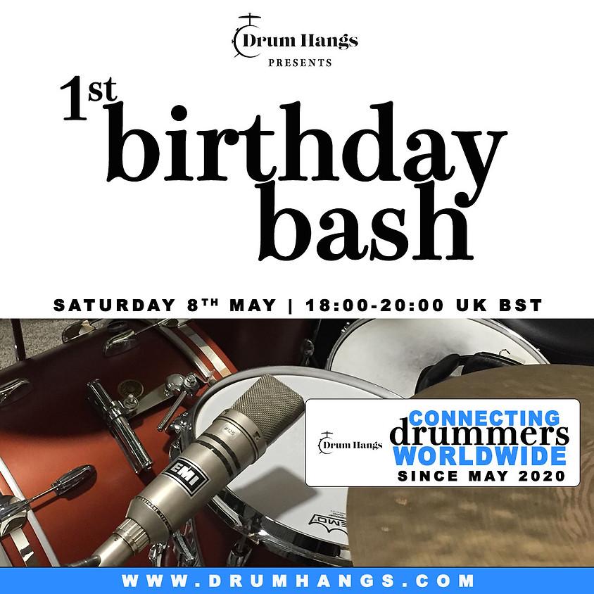 Drum Hangs 1st Birthday Bash