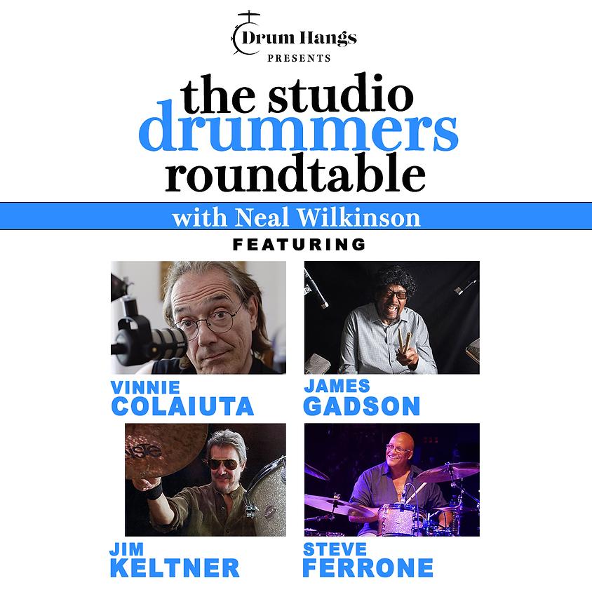 The Studio Drummers Roundtable: Colaiuta, Gadson, Keltner, Ferrone