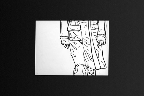 CATWALK ROTOSCOPE - GENUINE ILLUSTRATIONS