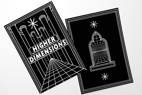 HIGHER DIMENSIONS - SET OF PRINTS