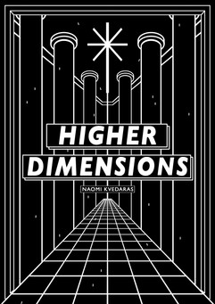 HIGHER DIMENSIONS GRAPHIC BOOK COVER