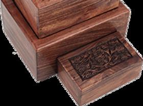 Sheesham Wood Urn