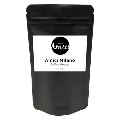 Italian Amici Milano Coffee 250gr - Well Balanced - Hintof Hazelnut & Chocolate