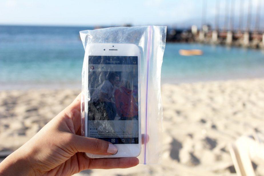 tips voor een dagje strand telefoonhoesje