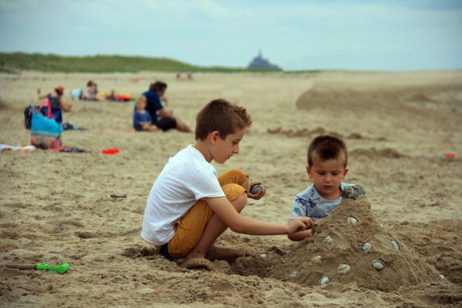 Normandie met kinderen