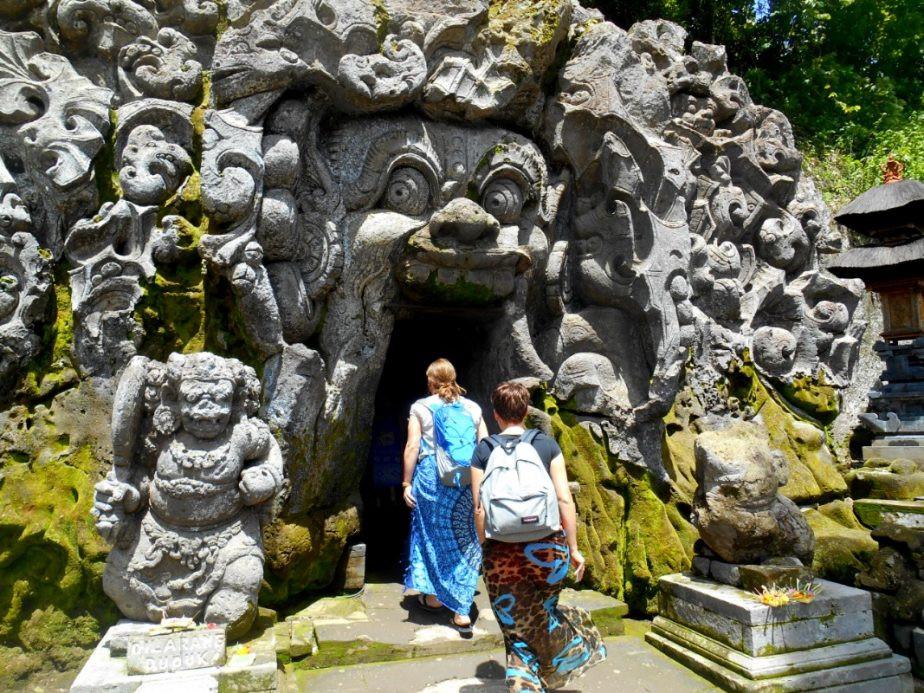 Bali met kinderen - Olifantentempel