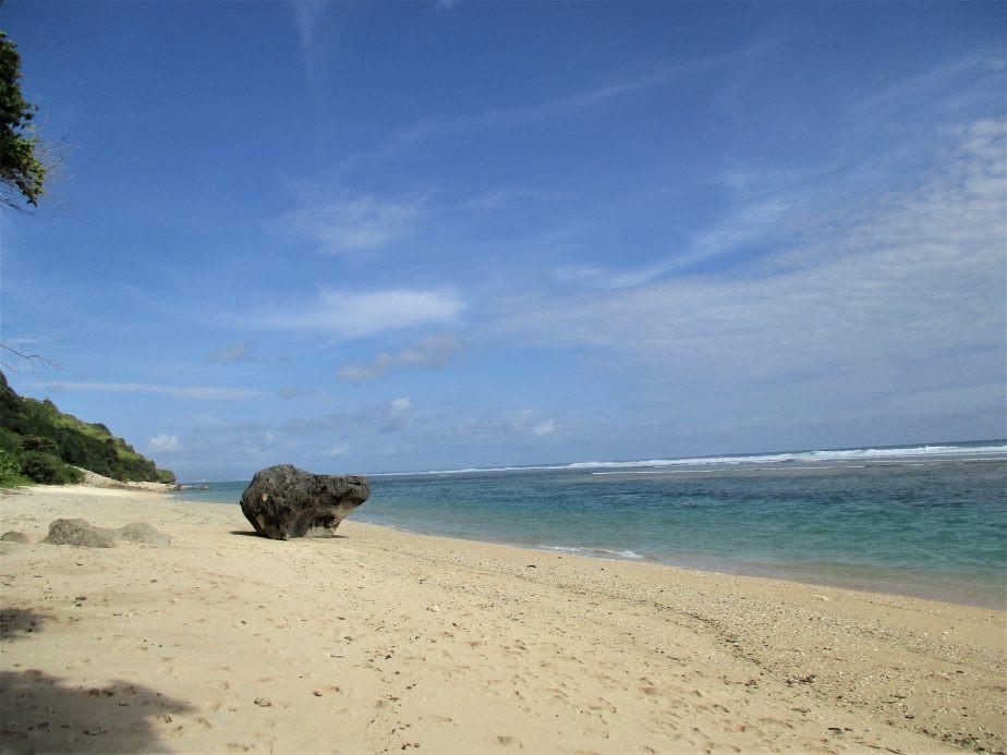 Bali met kinderen - Pandawa strand