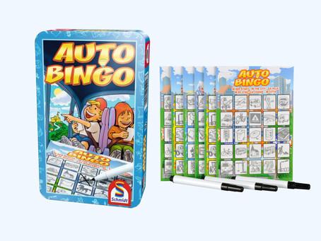 Win het auto bingo spel!