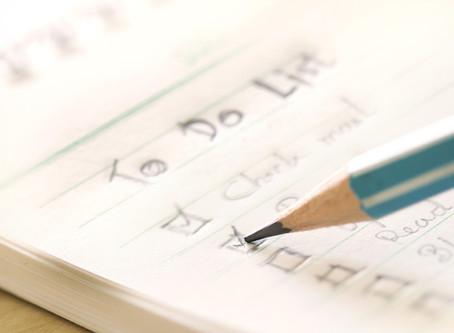 Lijstjes, lijstjes, lijstjes…