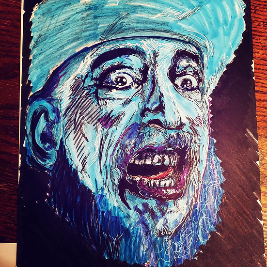 Captain Spaulding, house of 1000 corpses