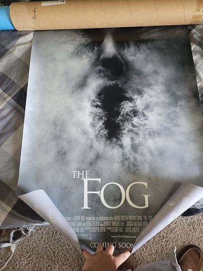 The Fog 2005 poster 27 ×41 inches