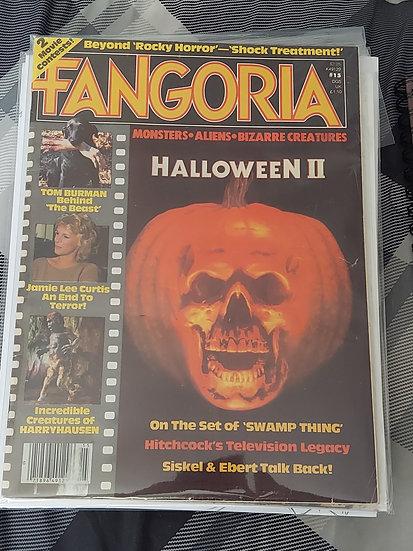 Fangoria #15 Halloween II COVER STORY!