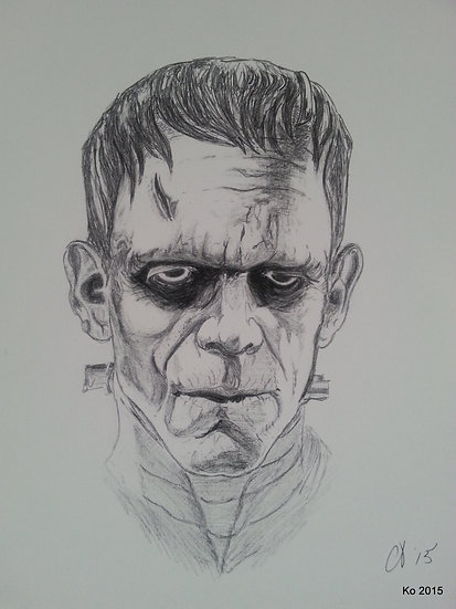The Monster - Frankenstein (1931)