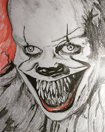 Pennywise the Dancing Clown - Bill Skarsgard - IT (2017) - Version 2