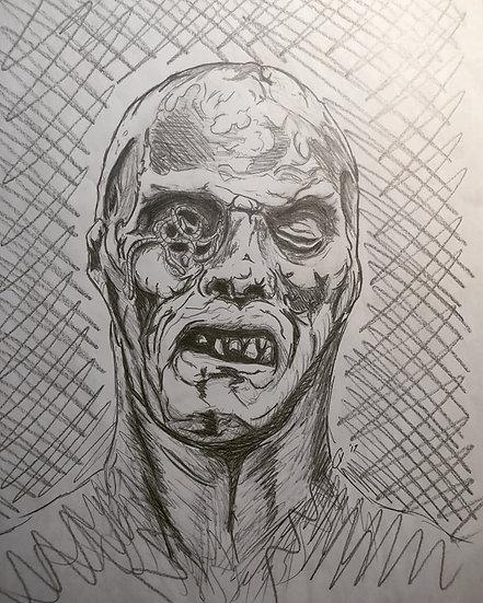 Worm Eyed Zombie - Lucio Fulci's Zombie (1979)