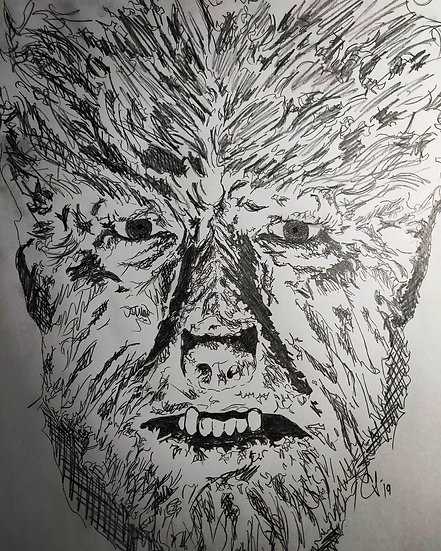 The Wolfman as portrayed by Lon Chaney (1941)