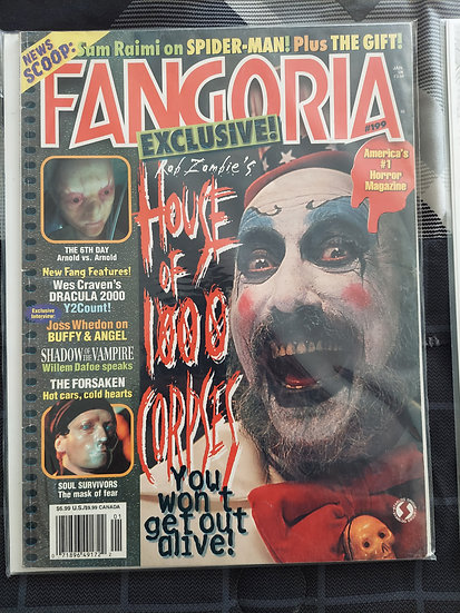 Fangoria #199, good condition.