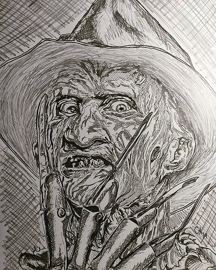 Freddy Krueger, Version 3 - Wes Craven's A Nightmare on Elm Street series
