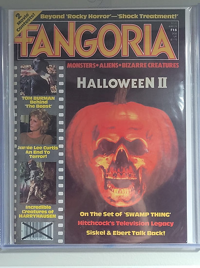 Fangoria #15 Halloween II coveraage! (rare issue)
