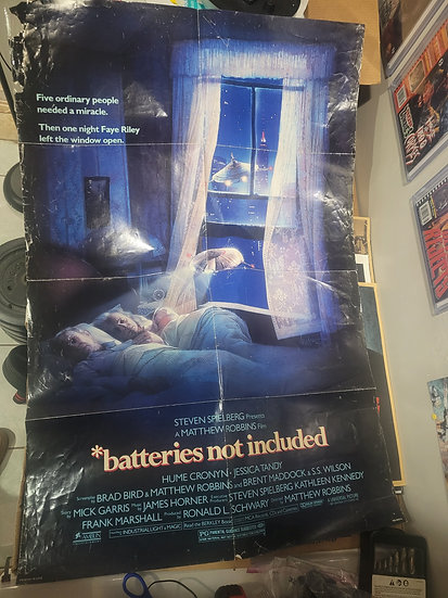 Batteries not included poster