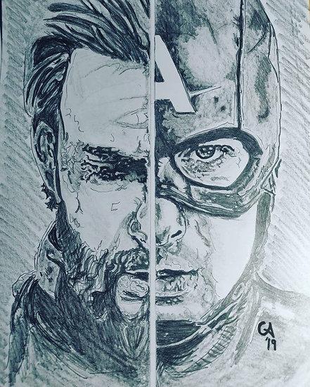 Captain America/Steve Rogers - Avengers film series