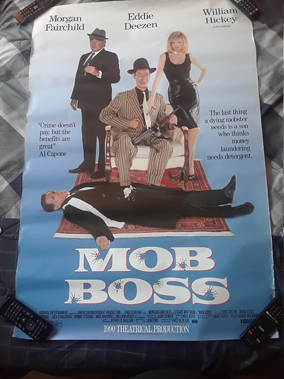 Mob Boss (1990) Vintage Movie Poster