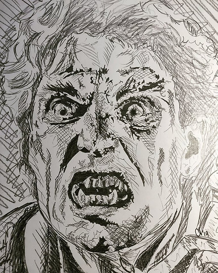 Jerry Dandrige (Version 2) as portrayed by Chris Sarandon - Fright Night (1985)
