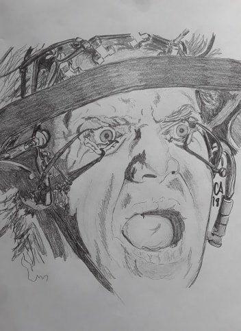 Alex in Treatment - A Clockwork Orange (1971)