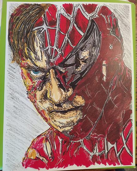 Sam Raimi's spiderman Tobey macguire.