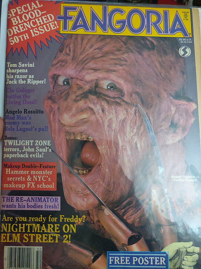 Fangoria #50 (Good Condition)