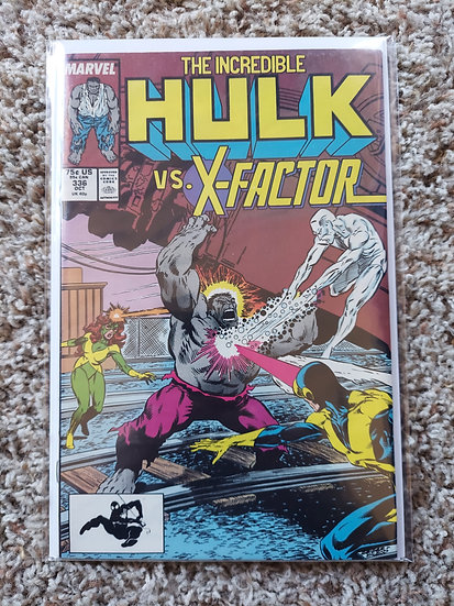 The Incredible Hulk #336 featuring X-Factor! Inside art by Todd MacFarlane!