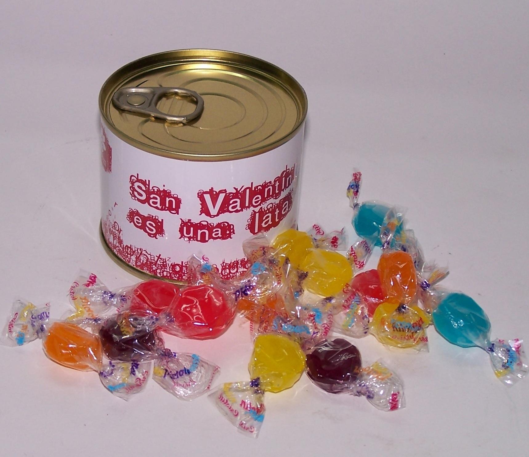 Latta di caramelle