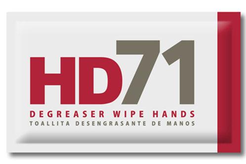 TOALLITA DESENGRASANTE DE MANOS HD71